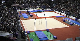 Surfaces for Gymnastics Grand Prix