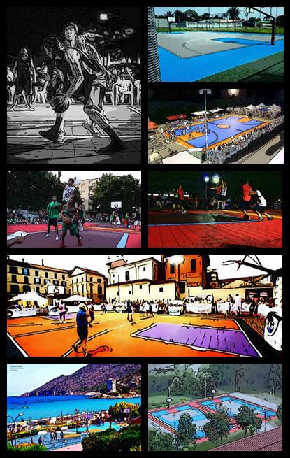 Basket Court by SwissFlex VersaCourt
