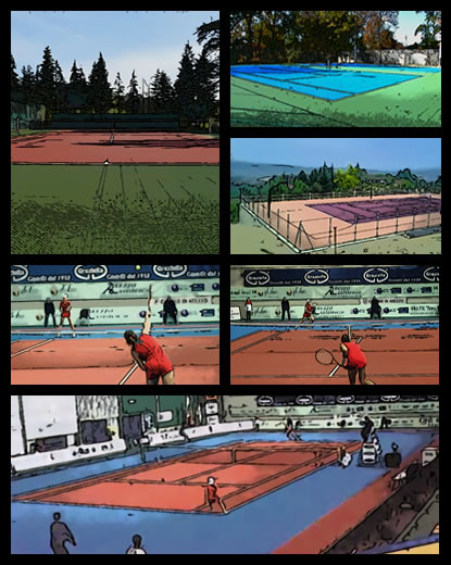 Tennis Court by Tanques® Tqs