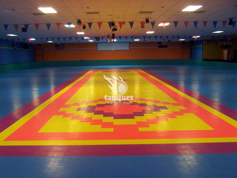 SkateCourt Tanques Srl - Skate court flooring