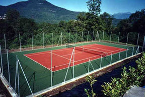 Tennis court realization - completed